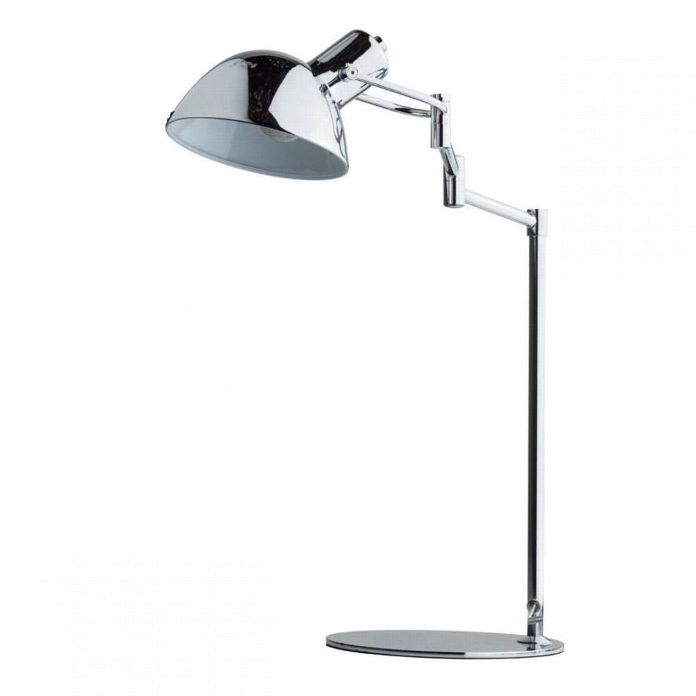 Лампа настольная Mw lightЛампы настольные<br>Тип настольной лампы: ученическая/офисная,<br>Назначение светильника: для комнаты,<br>Стиль светильника: современный,<br>Материал светильника: металл,<br>Длина (мм): 400,<br>Ширина: 200,<br>Высота: 500,<br>Количество ламп: 1,<br>Тип лампы: накаливания,<br>Мощность: 40,<br>Патрон: Е27,<br>Цвет арматуры: хром,<br>Коллекция: Гэлэкси<br>