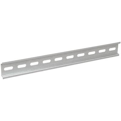Din-рейка IekЩиты электрические, боксы<br>Тип: DIN рейка,<br>Тип установки: настенный,<br>Материал: сталь,<br>Использование: в помещении,<br>Высота: 35,<br>Ширина: 200,<br>Глубина: 8<br>