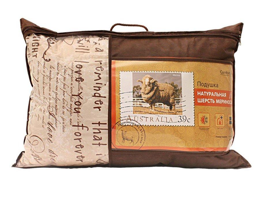 Подушка НОРДТЕКС 183681 comfort line МЕРИНОС