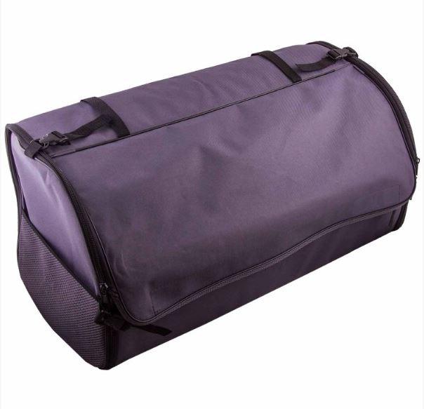 Органайзер SkywayАксессуары<br>Тип автоаксессуара: органайзер, Назначение: в багажник, Материал: оксфорд, Размеры: 60х30х30, Цвет: серый<br>