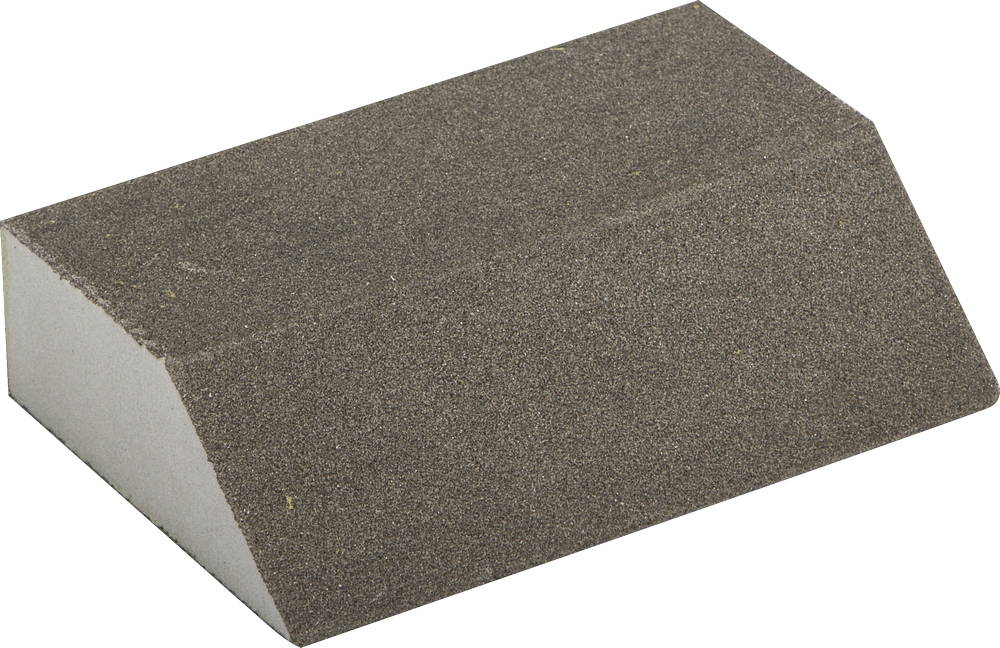 Губка шлифовальная ЗУБРБруски шлифовальные<br>Длина (мм): 100, Ширина: 68, Высота: 26, Зернистость: 120<br>