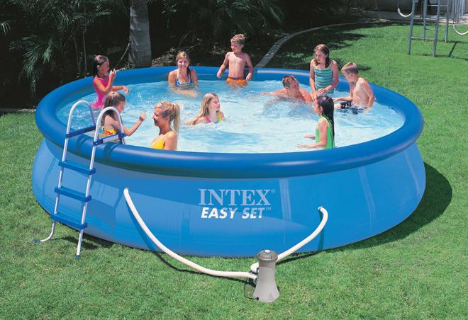 Бассейн надувной Intex 56414
