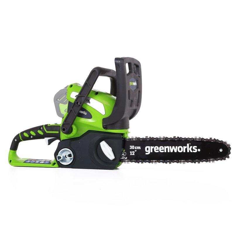 Пила цепная аккумуляторная Greenworks