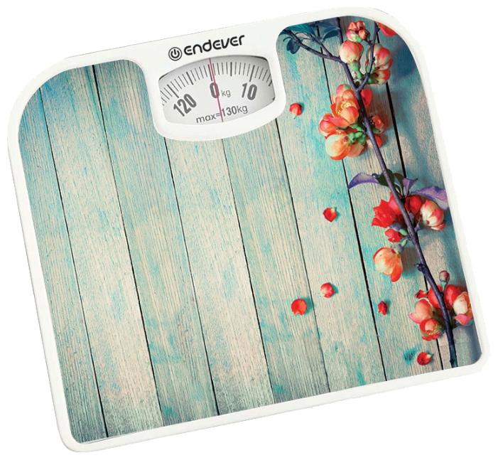 Весы напольные EndeverВесы<br>Тип весов: напольные, Тип: механические, Материал: пластик, Максимальная нагрузка: 130, Цвет: мультиколор, Единицы измерения: кг<br>