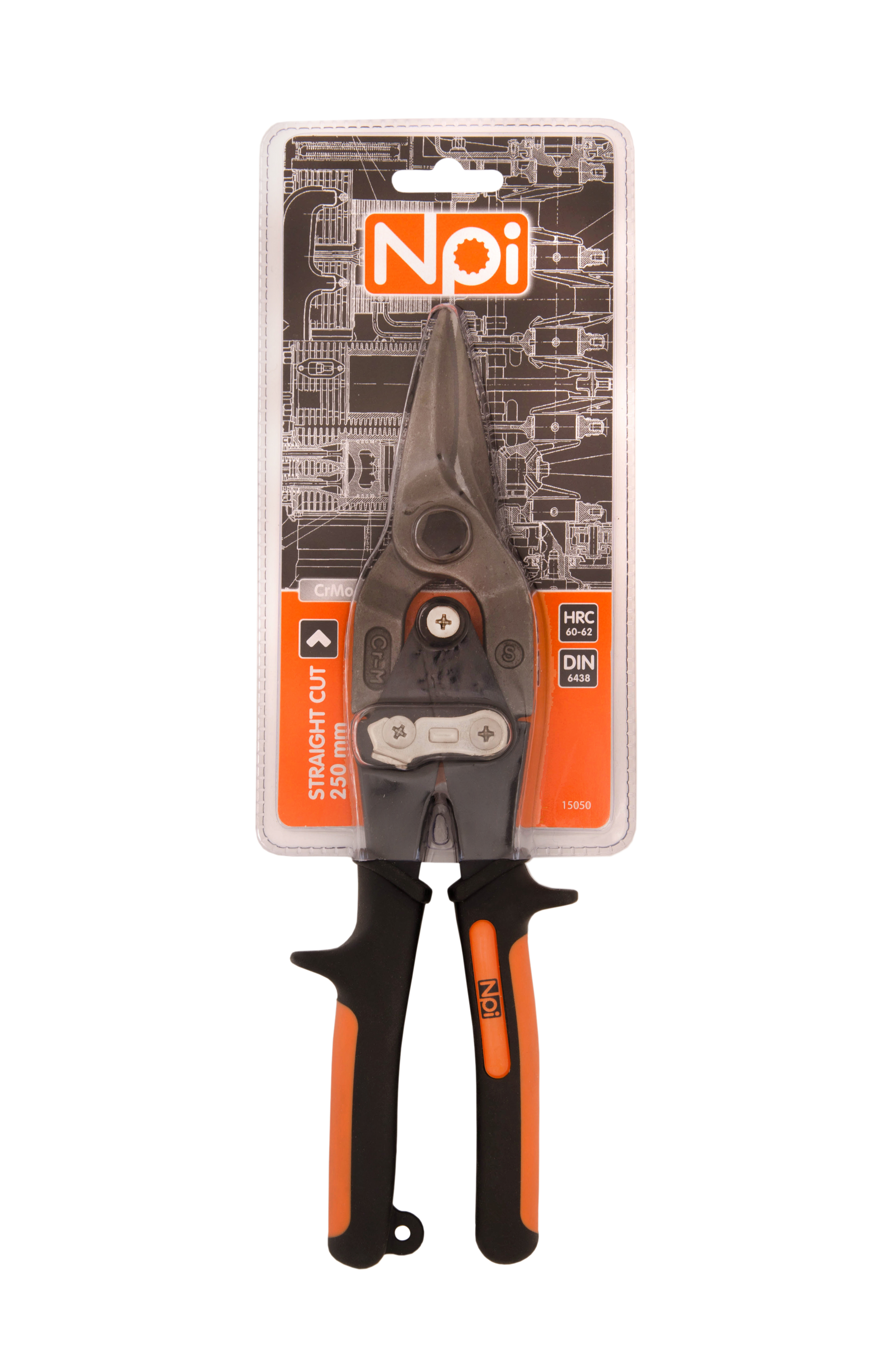 Ножницы по металлу Npi 15050 15050