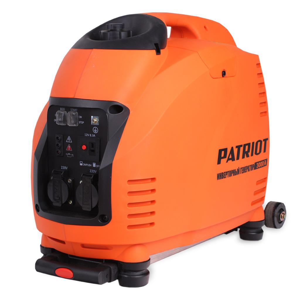 Инверторный бензиновый генератор Patriot