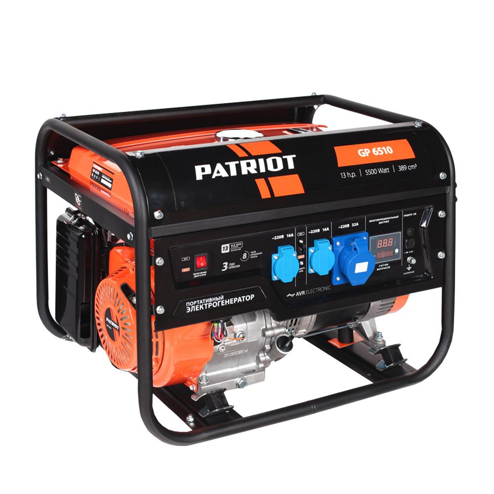 Бензиновый генератор Patriot