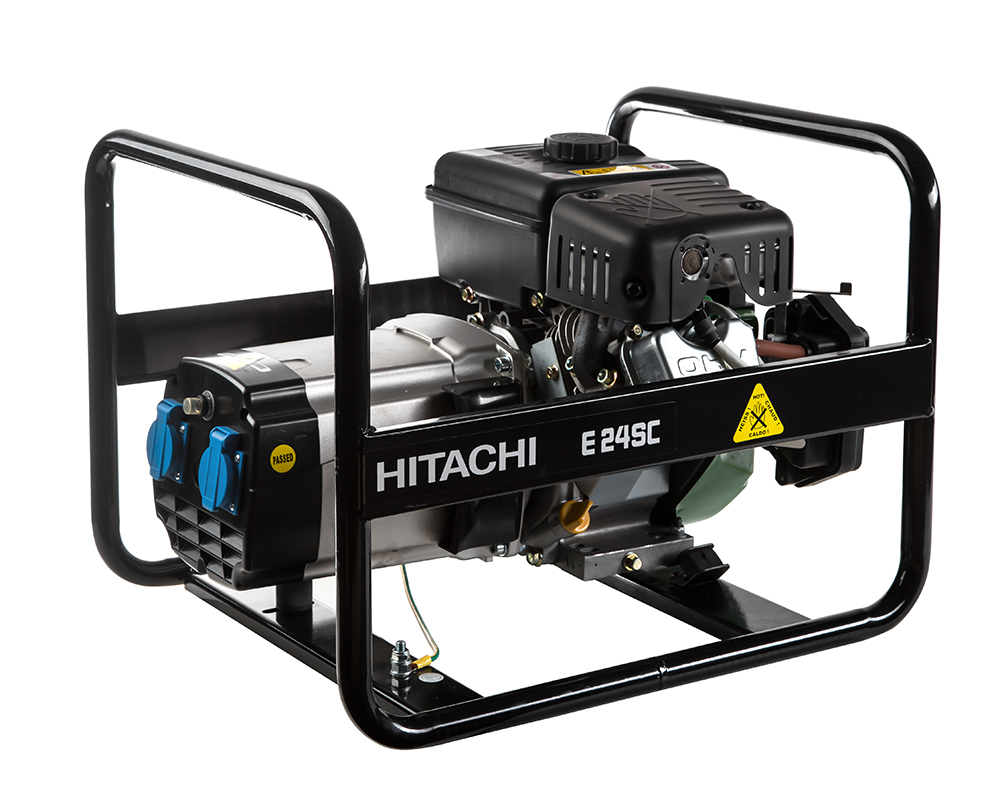 Бензиновый генератор Hitachi E24sc бензиновый