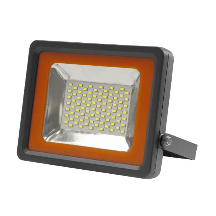 Прожектор JazzwayПрожекторы<br>Мощность: 70, Ширина: 270, Длина (мм): 355, Высота: 47, Тип лампы: светодиодная, Патрон: LED, Цвет арматуры: серебристый, Степень защиты от пыли и влаги: IP 65, Угол обзора: 100, Тип: стационарный, Назначение прожектора: уличный, Цветовая температура: 6500<br>