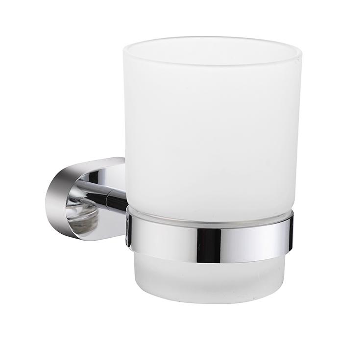 Стакан MilardoАксессуары для ванной комнаты<br>Назначение аксессуара: стакан, Цвет покрытия: хром, Материал: металл<br>