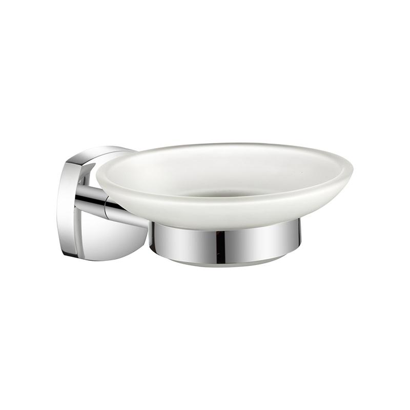 Мыльница MilardoАксессуары для ванной комнаты<br>Назначение аксессуара: мыльница, Цвет покрытия: хром, Материал: металл<br>