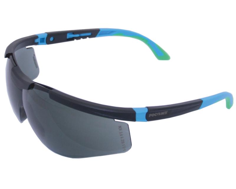 Очки РОСОМЗЗащитные очки<br>Тип очков: открытые, Цвет: черный, Материал: поликарбоната<br>