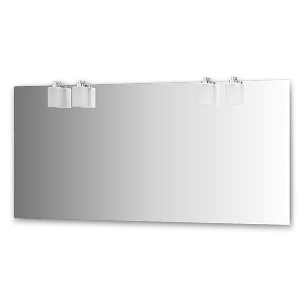 Зеркало ElluxЗеркала<br>Высота: 750, Ширина: 1600, Глубина: 123, Форма зеркала: прямоугольник, Назначение: для ванной, Подсветка: есть, Коллекция: Bolero<br>