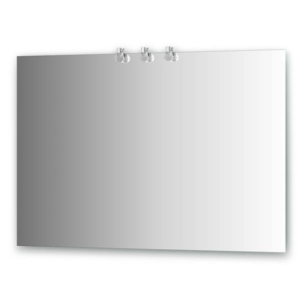 Зеркало ElluxЗеркала<br>Высота: 750, Ширина: 1100, Глубина: 85, Форма зеркала: прямоугольник, Назначение: для ванной, Подсветка: есть, Коллекция: Crystal<br>