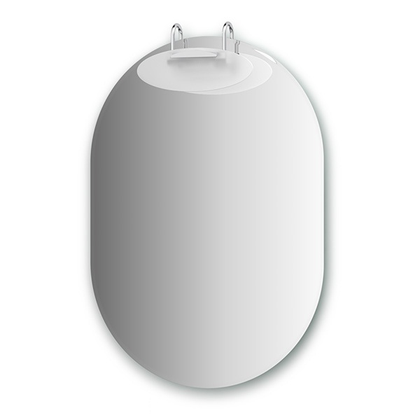 Зеркало ElluxЗеркала<br>Высота: 900, Ширина: 640, Глубина: 111, Форма зеркала: овал, Назначение: для ванной, Подсветка: есть, Коллекция: Mode<br>
