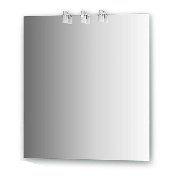 Зеркало ElluxЗеркала<br>Высота: 750, Ширина: 700, Глубина: 80, Форма зеркала: прямоугольник, Назначение: для ванной, Подсветка: есть, Коллекция: Sonet<br>