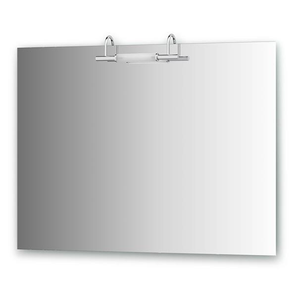 Зеркало ElluxЗеркала<br>Высота: 750, Ширина: 1000, Глубина: 105, Форма зеркала: прямоугольник, Назначение: для ванной, Подсветка: есть, Коллекция: Spiros<br>