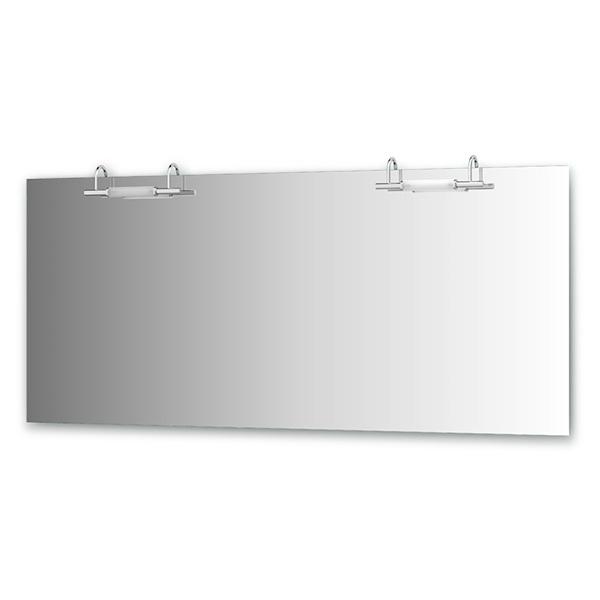 Зеркало ElluxЗеркала<br>Высота: 750, Ширина: 1700, Глубина: 105, Форма зеркала: прямоугольник, Назначение: для ванной, Подсветка: есть, Коллекция: Spiros<br>