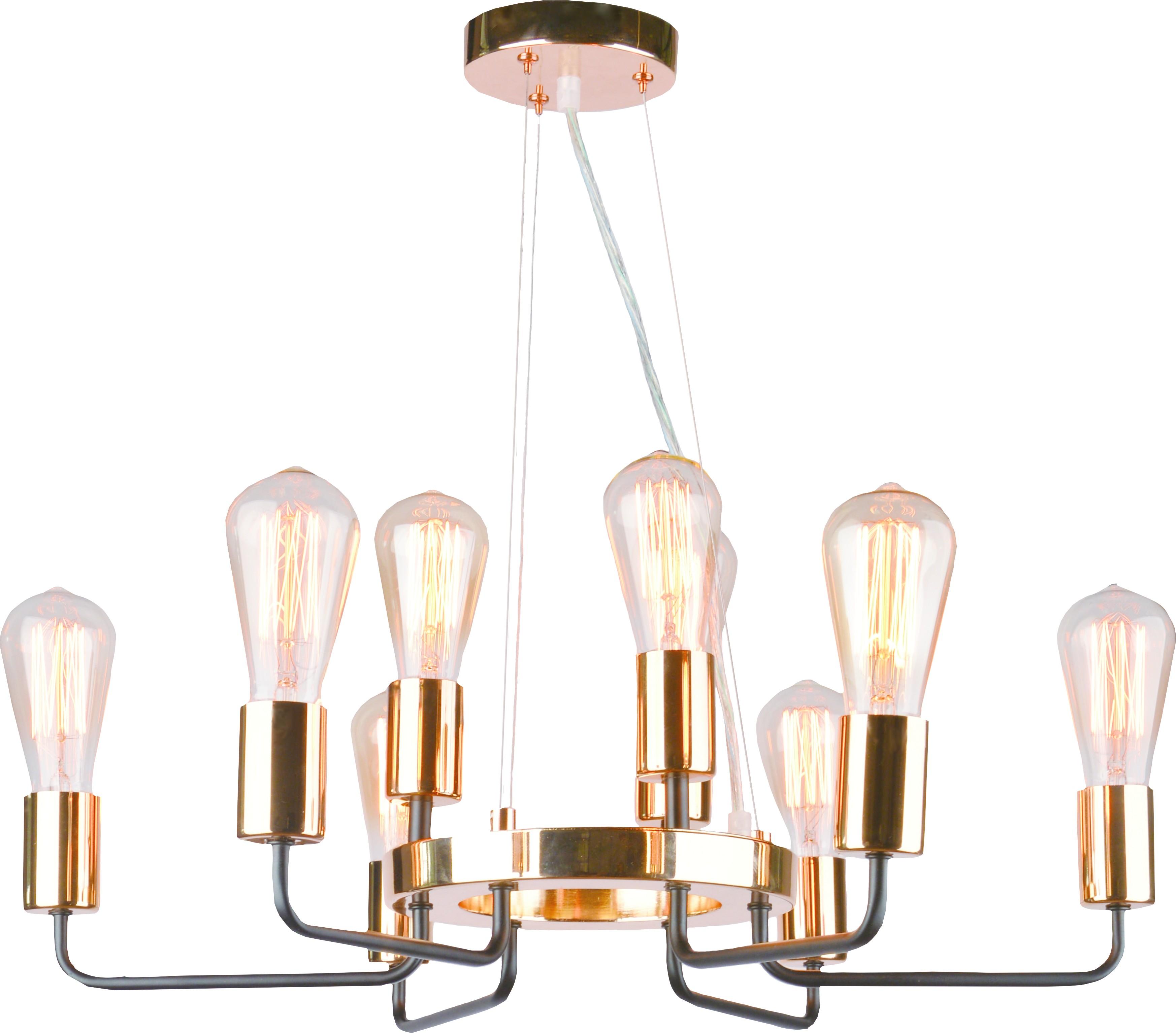 Люстра Arte lamp A6001lm-9bk