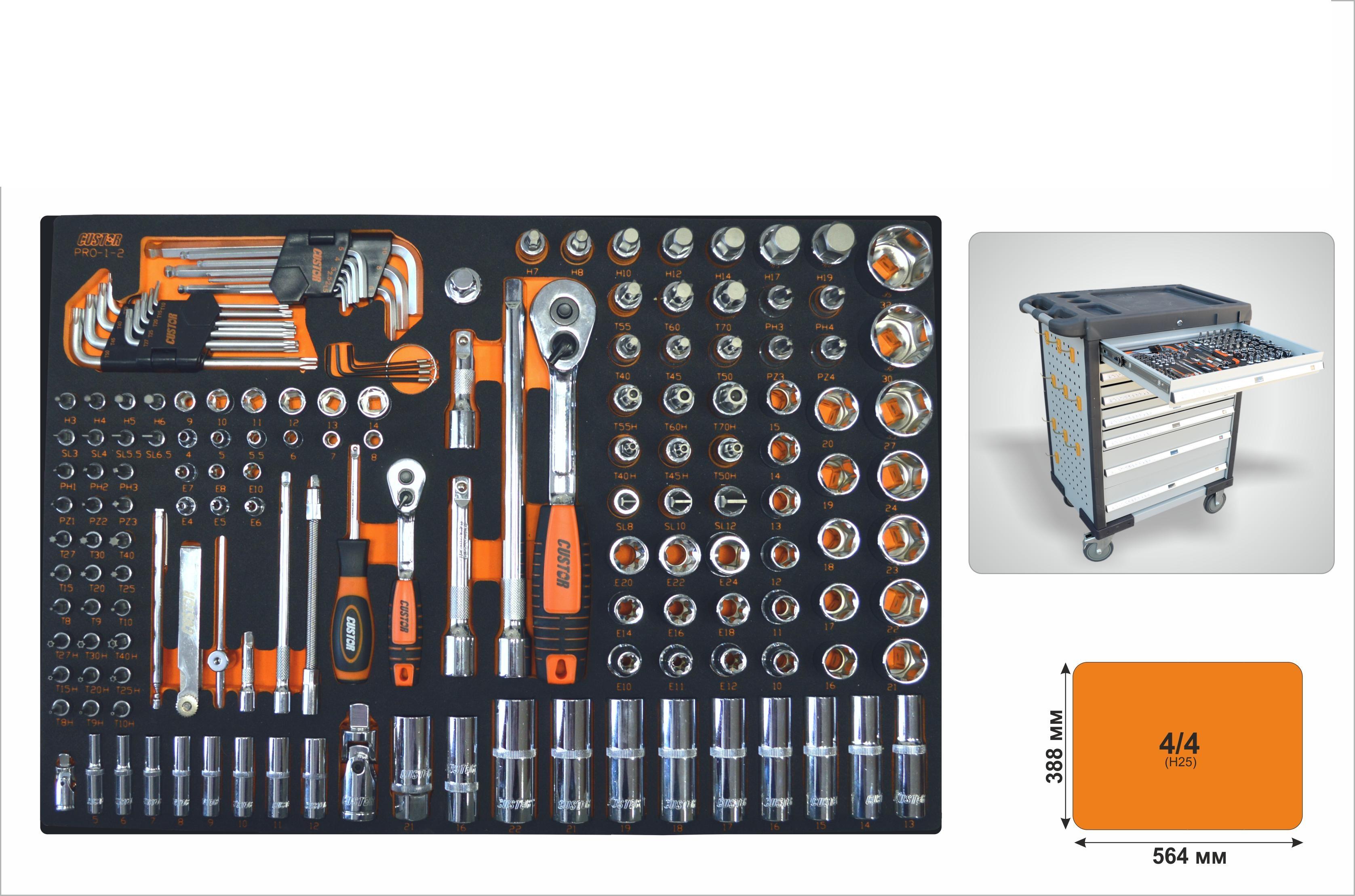 Набор инструментов Custor Pro-1-2