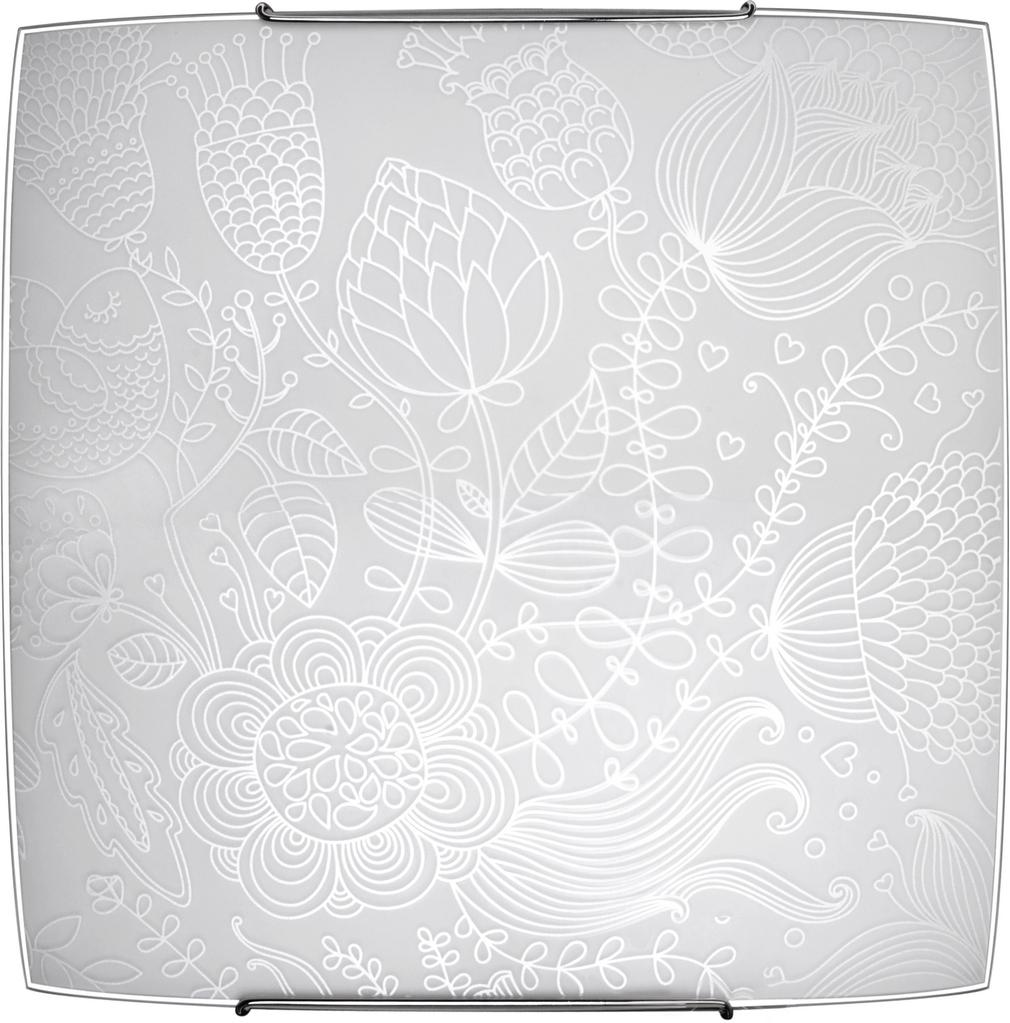 Светильник настенно-потолочный Lamplandia 5613 blossom white 8