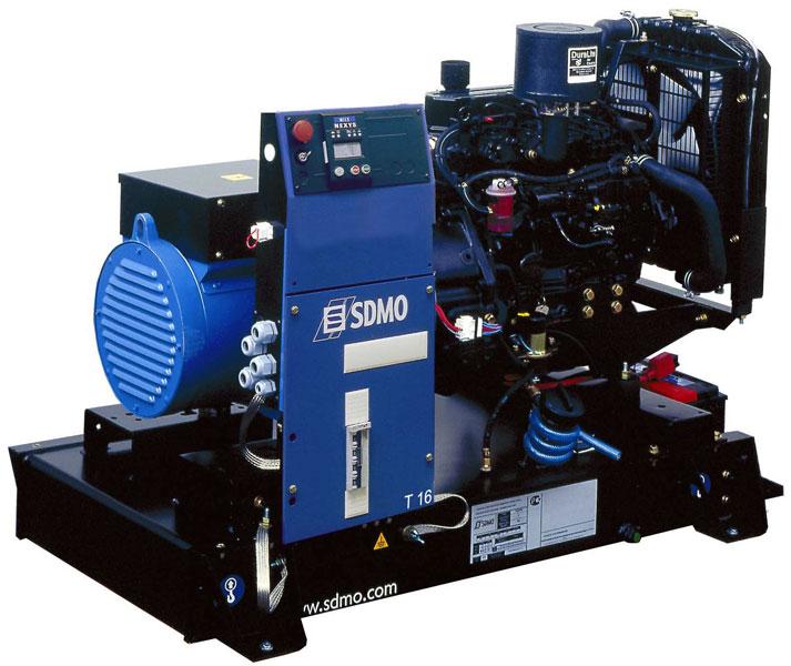 Дизельный генератор Sdmo T16k nexys T16K Nexys