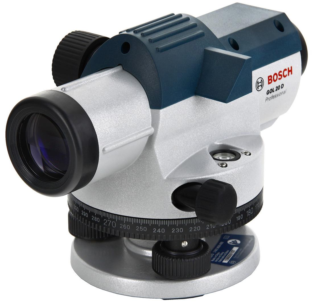 Нивелир оптический BoschНивелиры<br>Дальность: 60, Увеличение: 20, Погрешность нивелирования: 0.3, Резьба под штатив: 5/8  , Температура: от -10° до +50°, BOSCH Professional: есть, Вес нетто: 1.6, Поставляется в: кейсе<br>