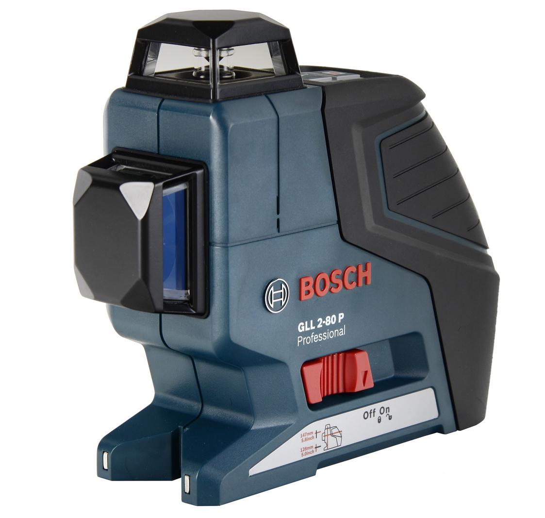 Уровень BoschУровни лазерные<br>Тип устройства: уровень,<br>Дальность: 20 (80),<br>Погрешность нивелирования: 0.2,<br>Проецирование лучей: линейное,<br>Количество лучей: 2,<br>Выравнивание: автоматическое,<br>Угол самовыравнивания: ± 4,<br>Класс лазера: 2,<br>Длина волны: 635,<br>Источники питания: AA,<br>Продолжительность работы: 18,<br>Резьба под штатив: 1/4  , 5/8  ,<br>BOSCH Professional: есть,<br>Вес нетто: 0.68<br>