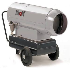Нагреватель KrollТепловые пушки и нагреватели (промышленные)<br>Тип тепловой пушки: дизельные,<br>Мощность: 115000,<br>Способ нагрева: прямой,<br>Мобильность: передвижной,<br>Производительность (м3/ч): 4800,<br>Расход топлива: 9.12,<br>Бак: 100,<br>Защита от перегрева: есть,<br>Вес нетто: 101,<br>Напряжение: 220<br>