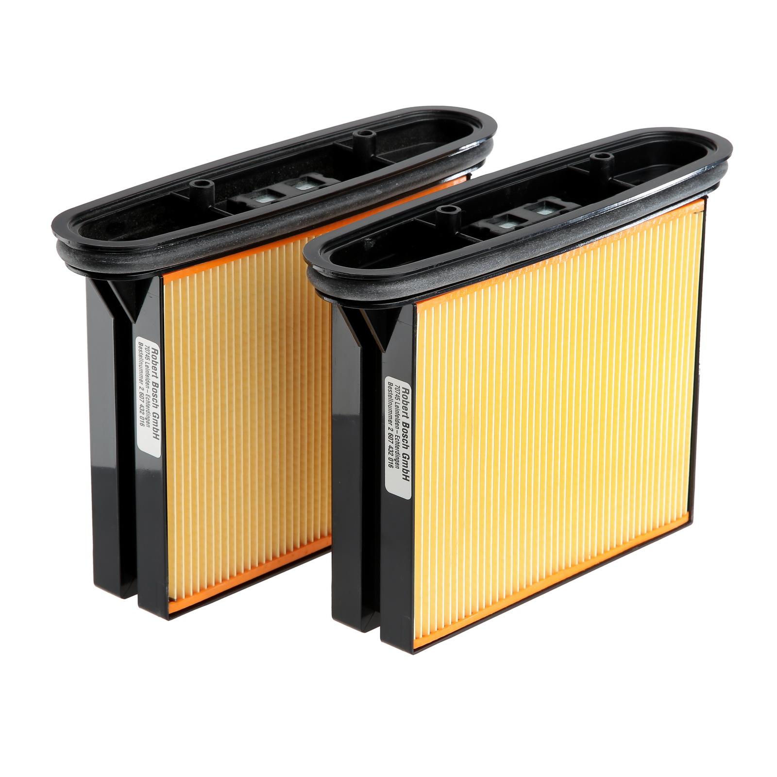 Фильтр Bosch Для пылесоса gas 50, складчатый
