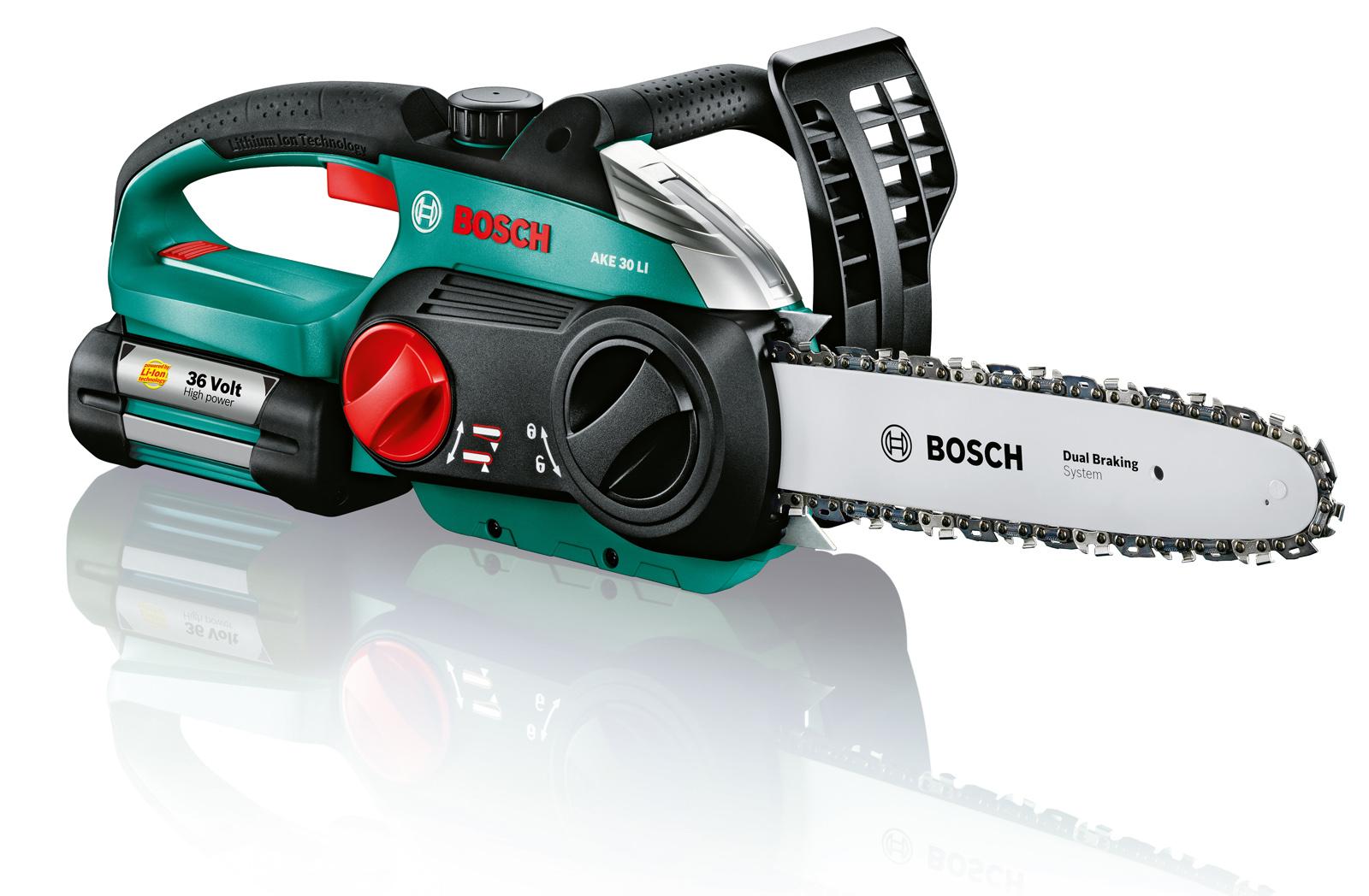 Пила цепная Bosch