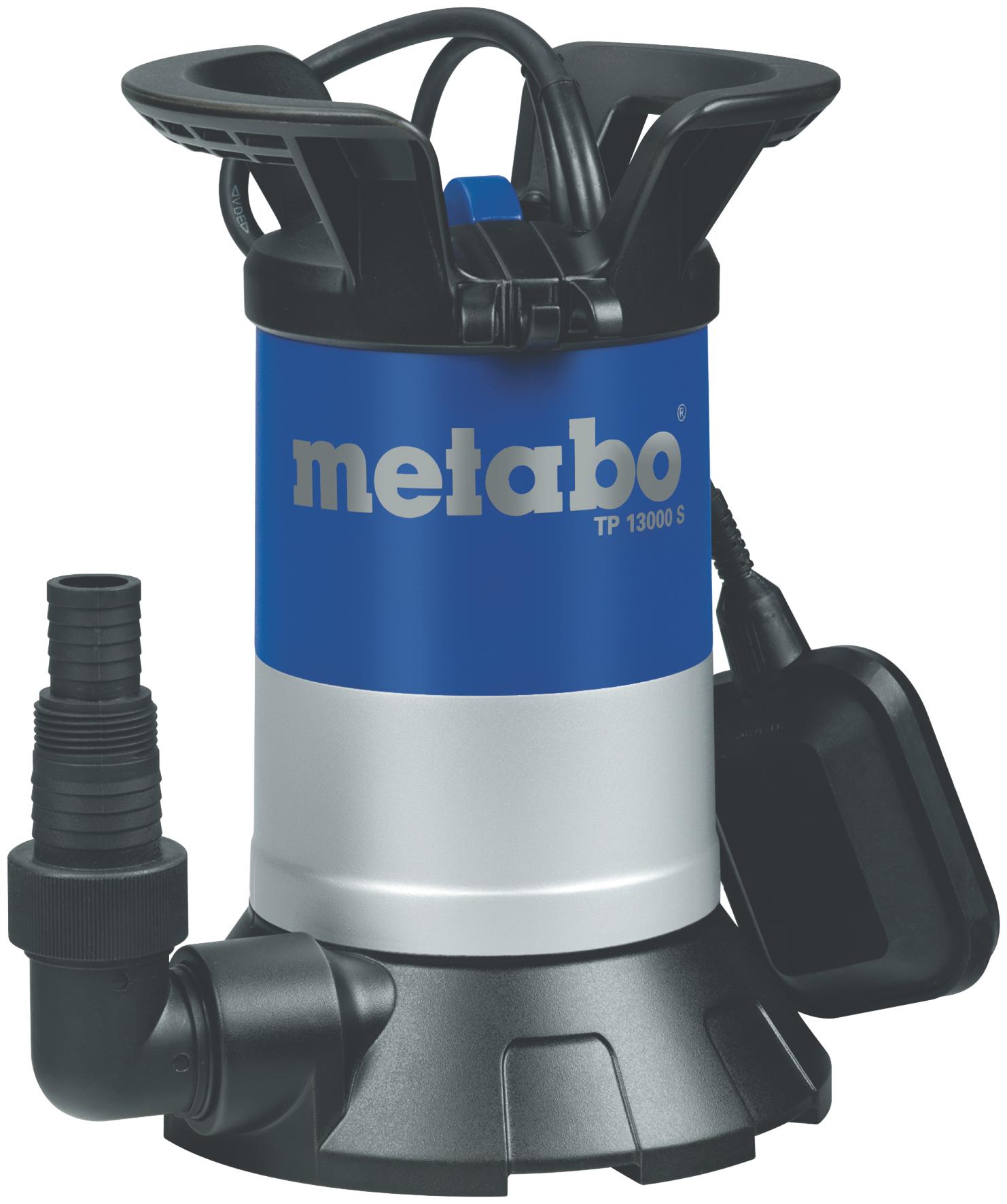 Насос MetaboНасосы<br>Тип насоса: погружной, Конструкция насоса: дренажный, Центробежный: есть, Назначение по воде: чистая вода, Макс. производительность по воде: 13000, Макс. глубина: 5, Макс. высота: 9.5, Мощность: 550, Поплавок: внешний, Макс. давление: 0.95, Эжектор: нет, Диаметр всасывающего шланга: 1 1/4  , Диаметр на выходе (в дюймах): 1.25, Материал корпуса: пластик, Длина кабеля: 10, Вес нетто: 5, Страна происхождения: Германия<br>