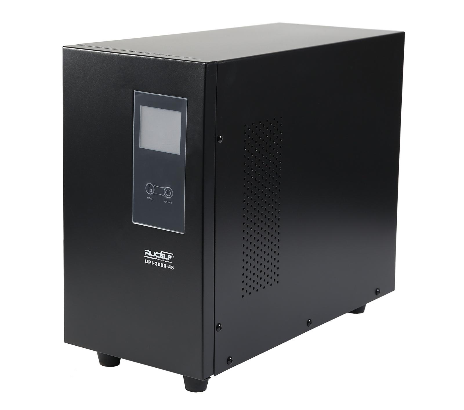 ИБП RucelfСтабилизаторы и ИБП<br>Мощность полная: 2100,<br>Мощность: 2000,<br>Тип: ИБП,<br>Тип ИБП: линейно-интерактивный,<br>Тип установки: напольный,<br>Мин. входное напряжение: 140,<br>Макс. входное напряжение: 275,<br>Выходное напряжение: 220,<br>Дисплей: цифровой,<br>Вес нетто: 5<br>