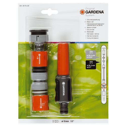 Набор коннекторов и штуцеров Gardena Premium 8175 базовый