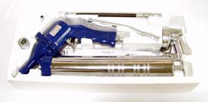 Пресс-масленка пневматическая JonneswayПистолеты пневматические<br>Тип: масленка, Макс. давление: 6, Вес нетто: 0.9, Страна происхождения: Тайвань<br>