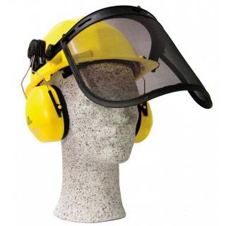 C1001/c100, Щиток защитный лицевой с наушниками