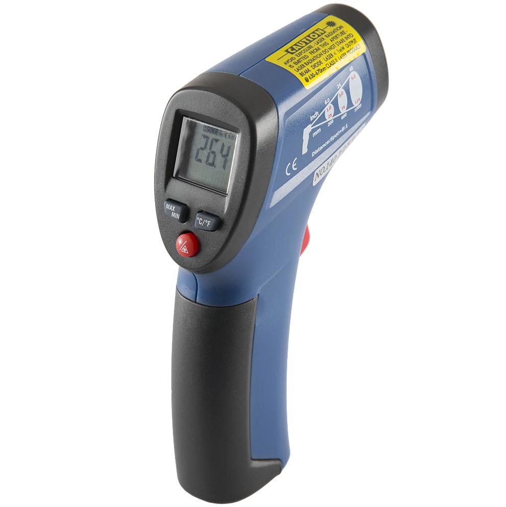 Фото 3/4 DT-810, Пирометр, инфракрасный бесконтактный термометр (Госреестр)