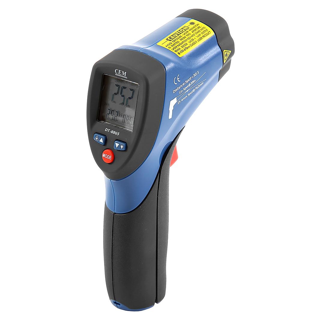 Фото 2/3 DT-8865, Пирометр, инфракрасный бесконтактный термометр