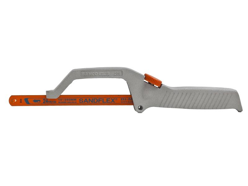 Ножовка по металлу BahcoНожовки ручные<br>Длина (мм): 330,<br>Назначение: металл,<br>Тип ножовки: ножовка<br>