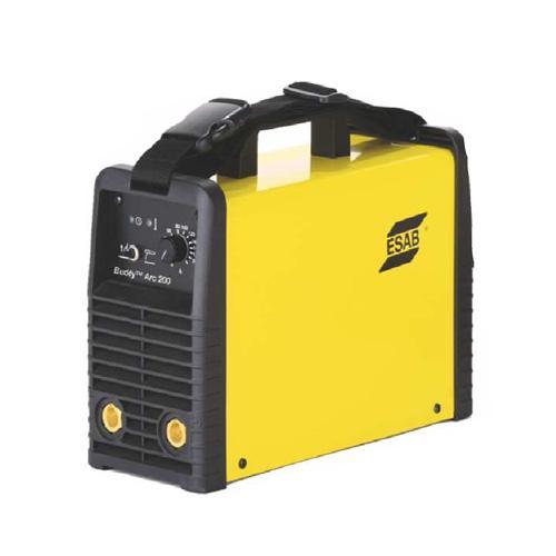 Сварочный инвертор EsabСварочное оборудование<br>Макс. сварочный ток: 200,<br>Напряжение: 220,<br>Мин. входное напряжение: 198,<br>Выходной ток: 10-200,<br>Напряжение холостого хода: 66.3,<br>Тип сварочного аппарата: инверторный,<br>Тип сварки: дуговая (электродом, MMA),<br>Инверторная технология: есть,<br>Поставляется в: коробке<br>