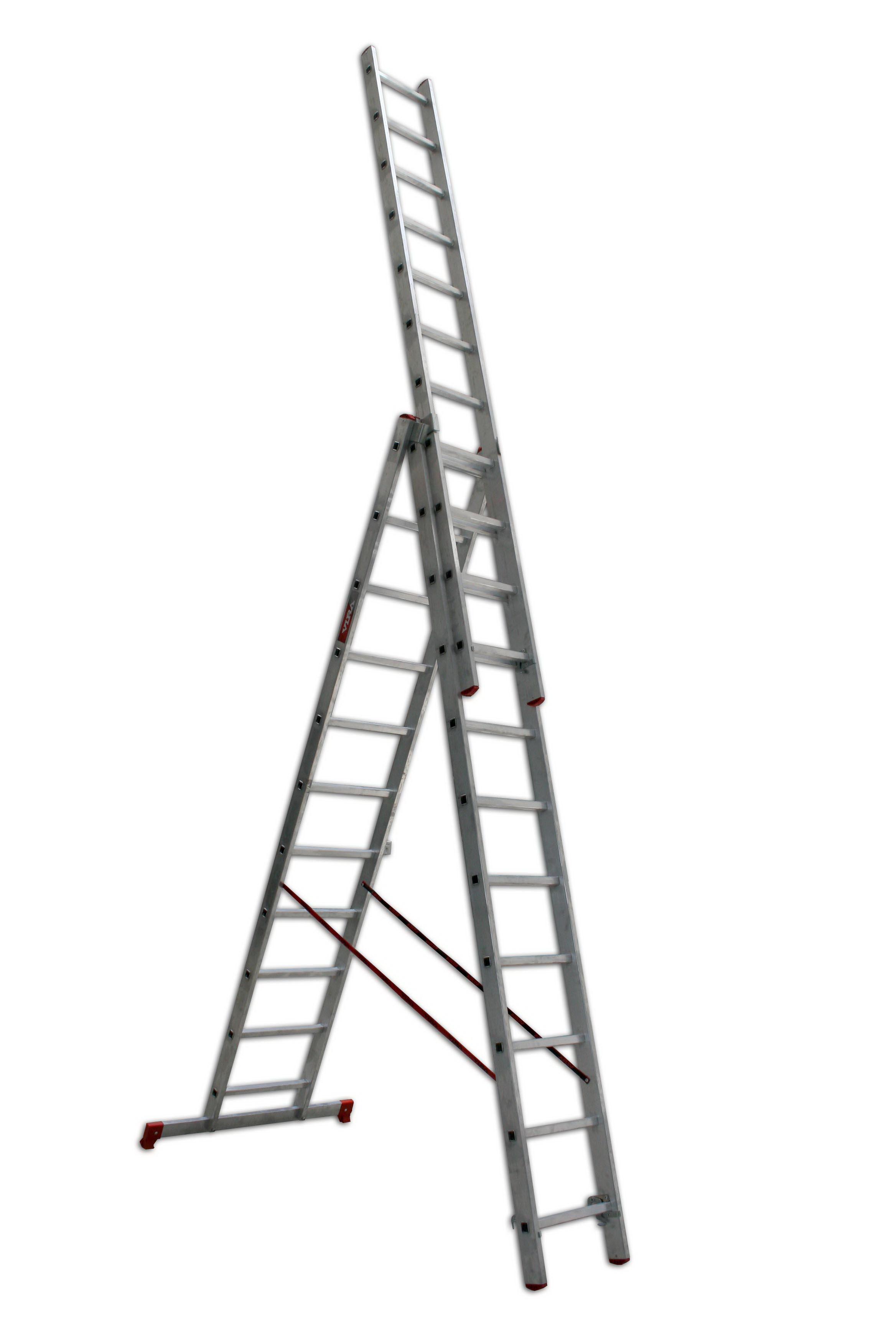 Лестница алюминиевая складная Vira от 220 Вольт