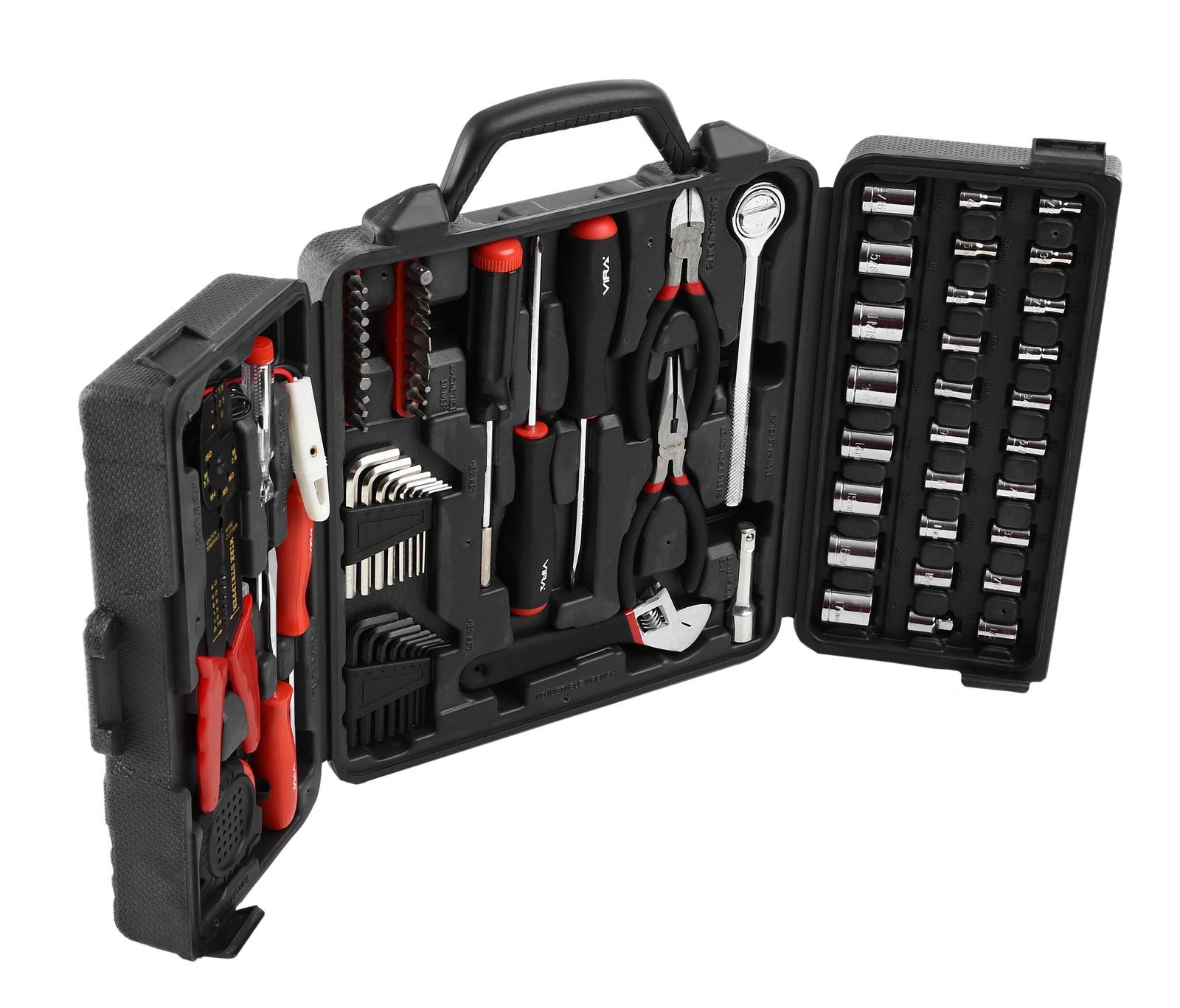 Набор инструментов в чемодане, 122 предмета Vira