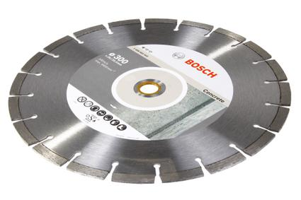 Круг алмазный BOSCH Standard for Concrete  350 Х 20/25.4 сегмент