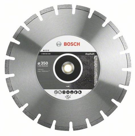 Фото 2/2 Standard for asphalt 500 Х 25.4 сегмент, Круг алмазный
