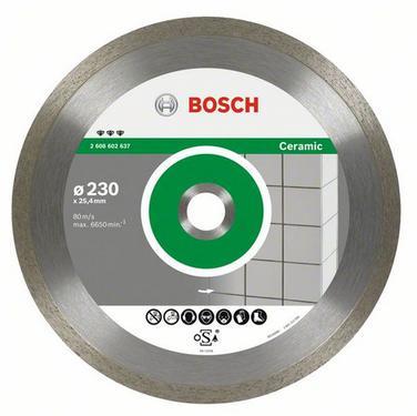 Круг алмазный BOSCH Best for Ceramic  230 Х 25.4 корона (сплошной)