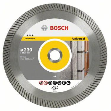 Круг алмазный BOSCH Best for Universal Turbo  230 Х 22 турбо
