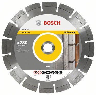 Круг алмазный BOSCH Expert for Universal  150 X 22 сегмент