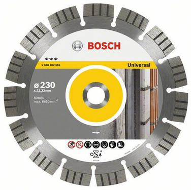 Круг алмазный BOSCH Best for Universal and Metal  180 Х 22 сегмент