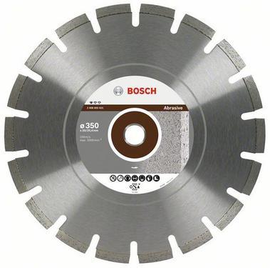 Круг алмазный BOSCH Standard for Abrasive  350 Х 20/25.4 сегмент
