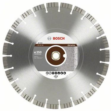 Круг алмазный BOSCH Best for Abrasive  400 Х 20/25.4 сегмент